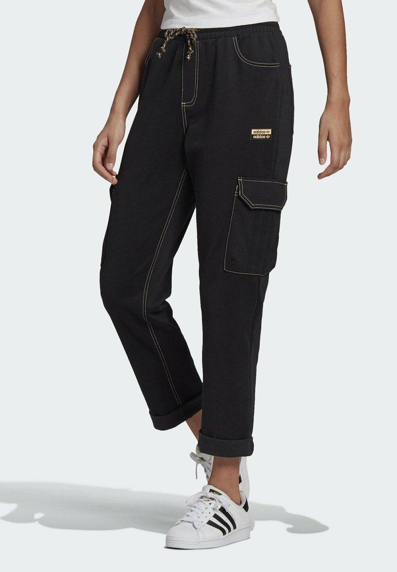 adidas Originals - PANTS - Cargo trousers - black