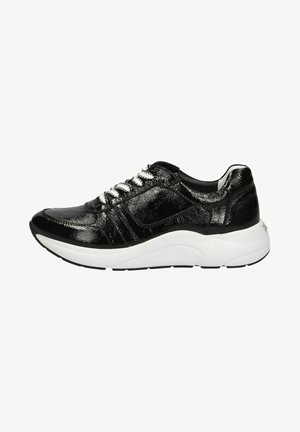 Sneakers laag - black naplak