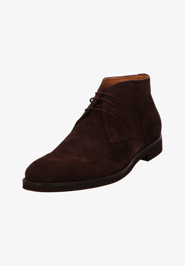 Boots - dunkel-braun