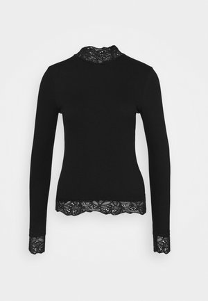 TOELLA - Langærmede T-shirts - black