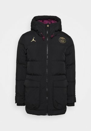 PARIS ST GERMAIN PARKA SOLID - Club wear - black/bordeaux