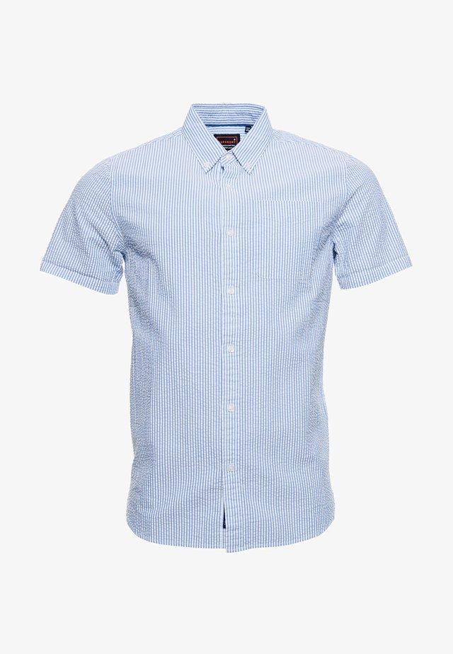 CLASSIC SEERSUCKER  - Overhemd - blue stripe