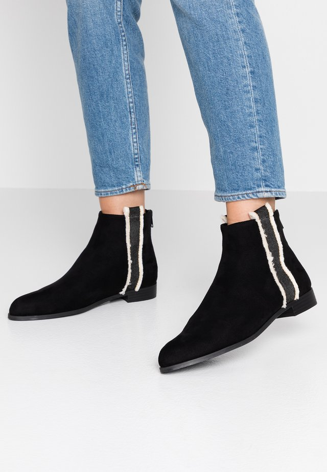 Ankle boot - noir