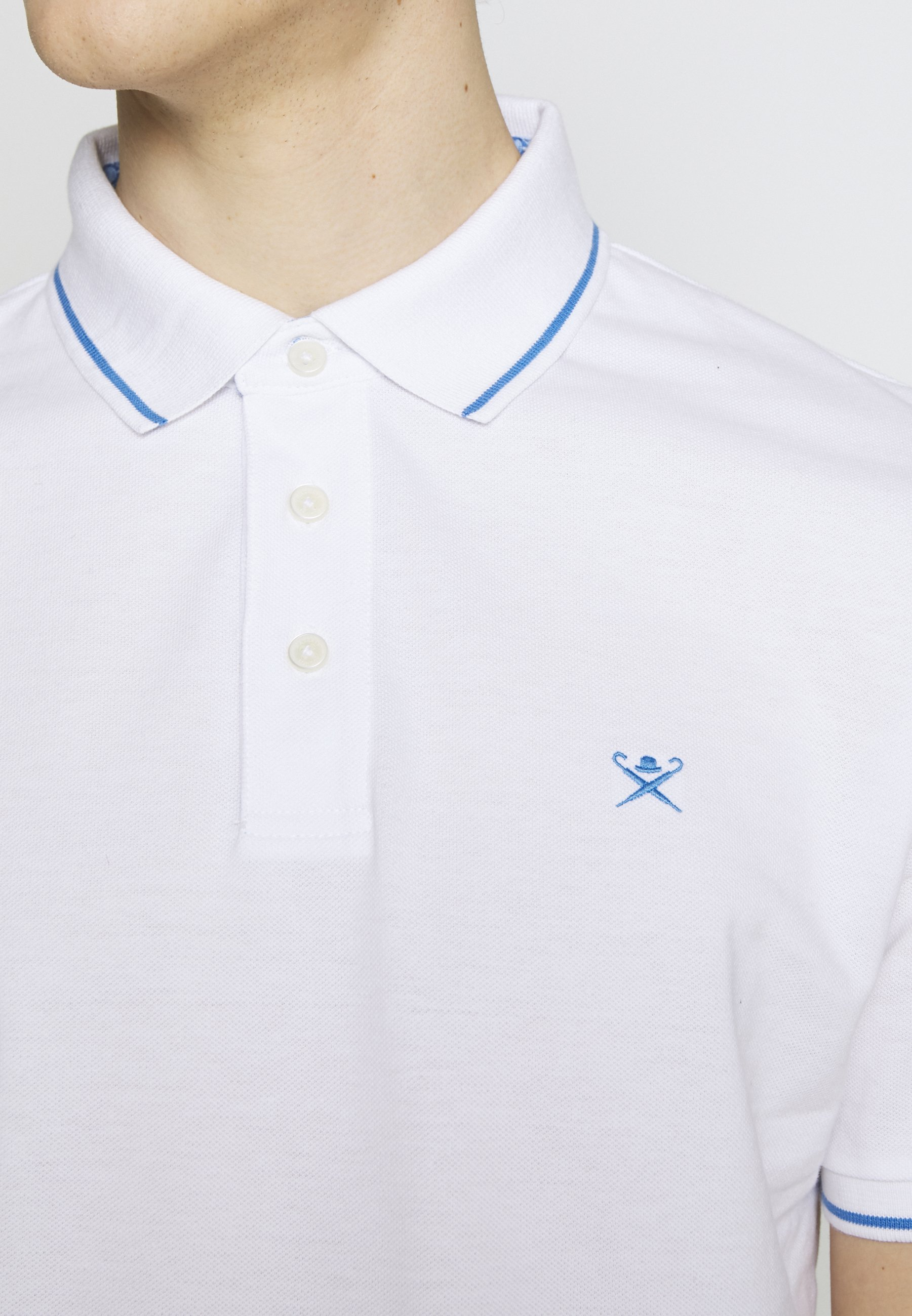 Hackett London TENNIS SWIM TRIM - Polo - white