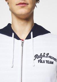 Polo Ralph Lauren - Zip-up hoodie - white/multi - 4