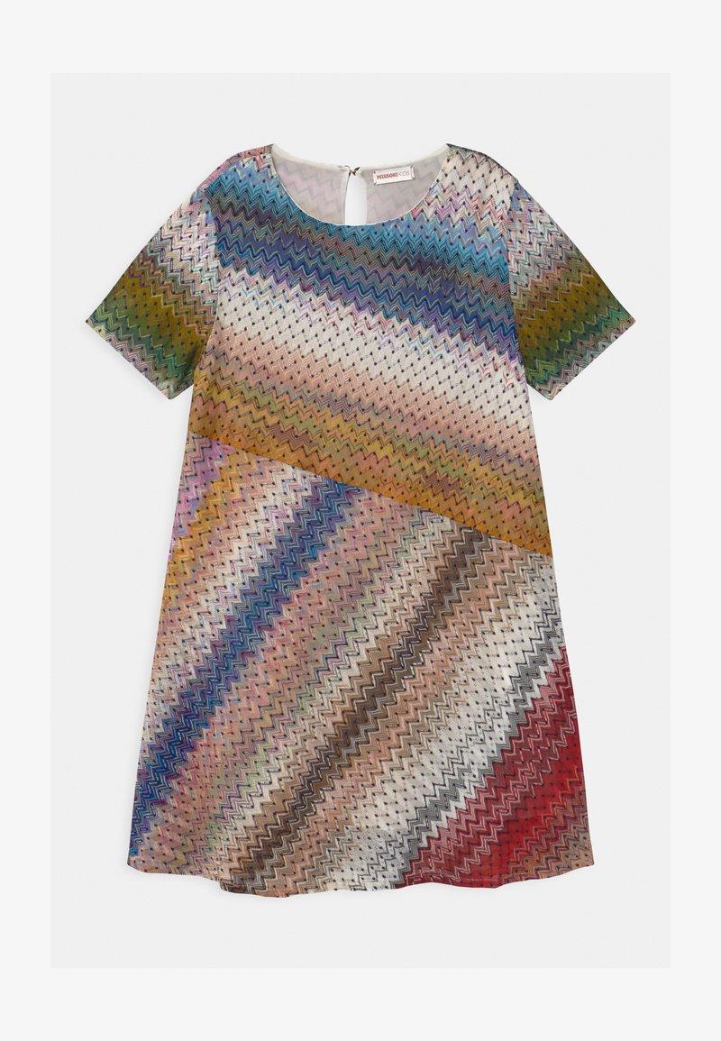 Missoni Kids - SVASATO MANICA CORTA - Jumper dress - multi-coloured