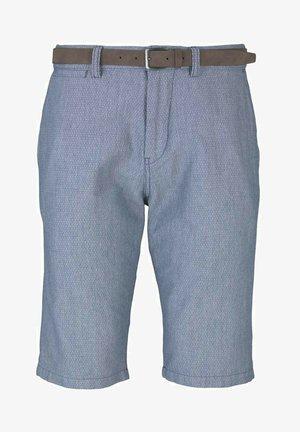 Shorts - light blue minimal indigo