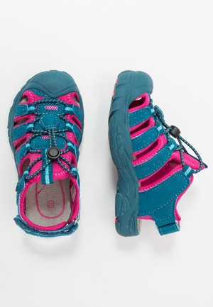 NIMBO - Walking sandals - grau/grün