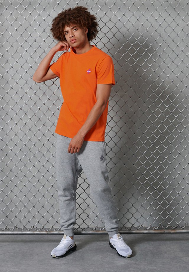 T-shirt basique - flame orange