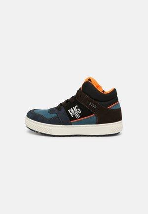 Sneakers laag - azzurro/nero
