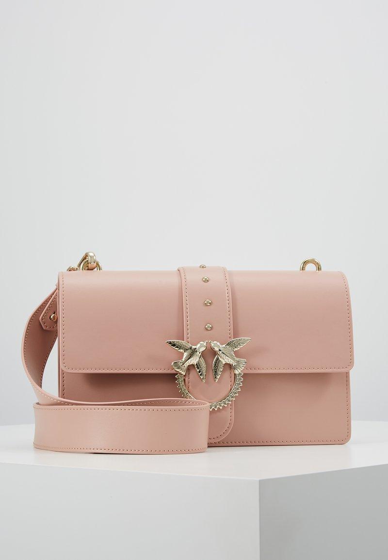 Pinko - LOVE CLASSIC STRAP - Umhängetasche - dust pink