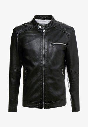 LUCKY JIM - Leather jacket - black