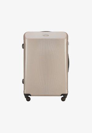 TRAVEL - Wheeled suitcase - beige