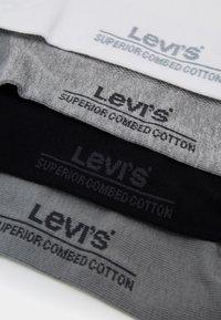 Levi's® - LOW CUT BATWING LOGO 9 PACK - Ponožky - white/grey melange/jet black - 1