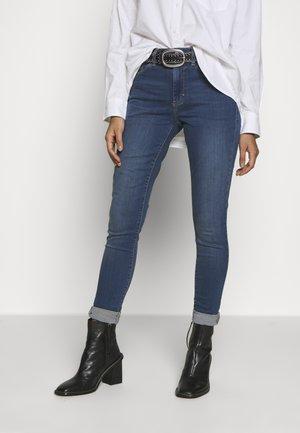 LEIGH - Jeansy Skinny Fit - blue denim