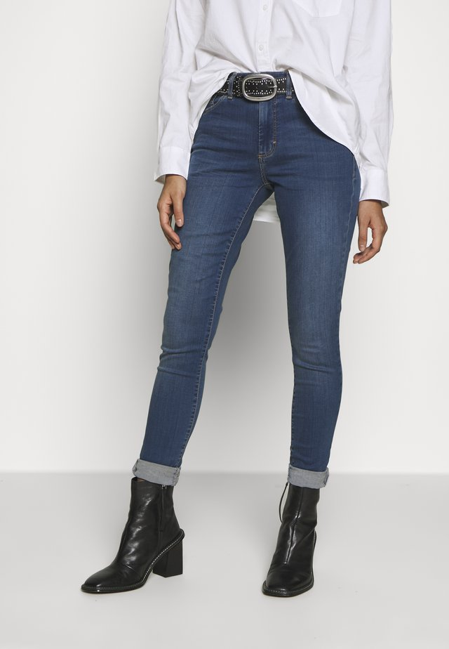 LEIGH - Jeansy Skinny Fit - blue denim