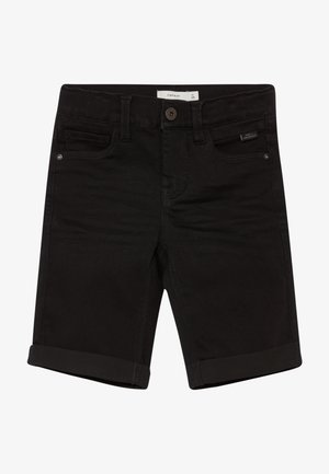 NKMSOFUS  - Jeans Short / cowboy shorts - black denim