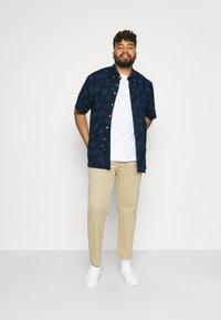 Polo Ralph Lauren Big & Tall - PRINTED - Shirt - dark blue/offwhite - 1