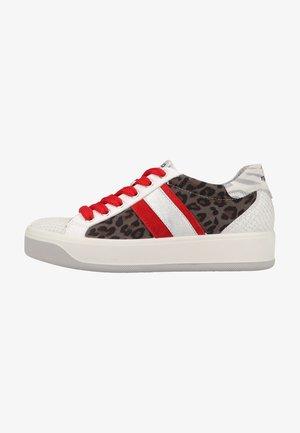 Sneakers laag - bianco/grigio