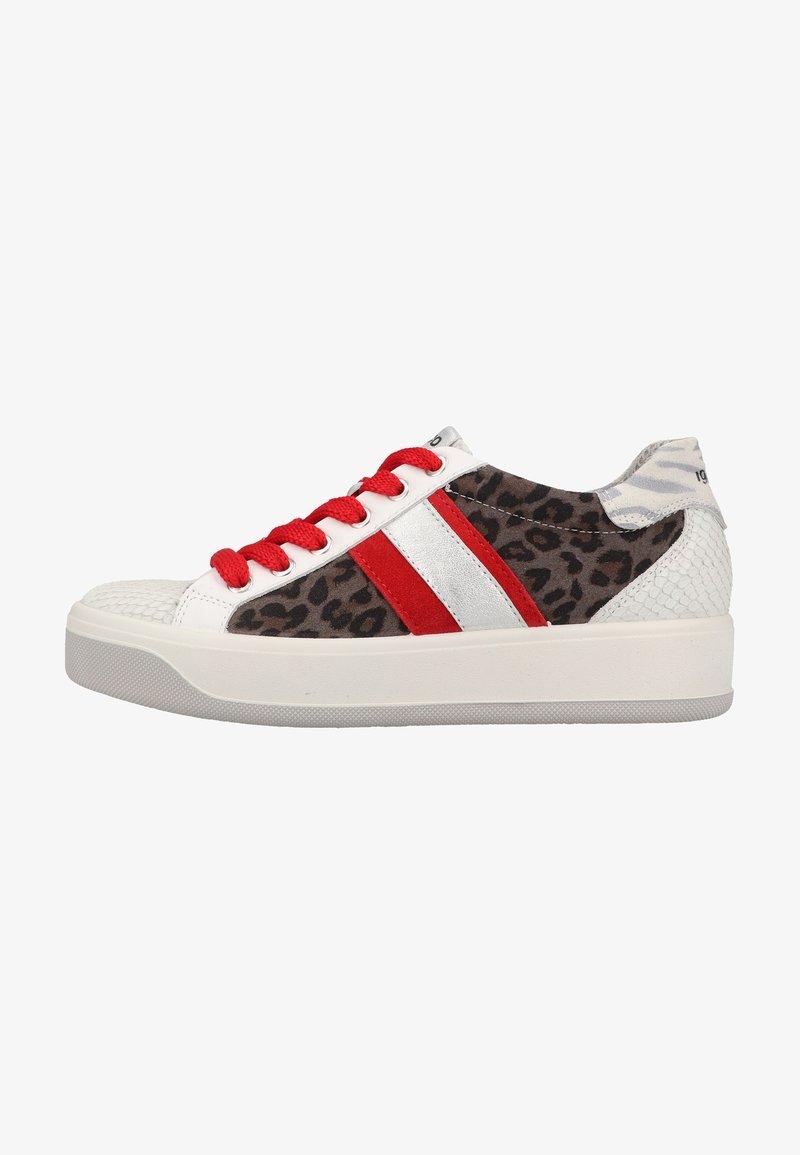 IGI&CO - Sneakers laag - bianco/grigio