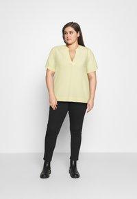 Selected Femme Curve - SLFALLA CURVE - Blouse - pastel yellow - 1
