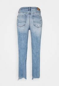 American Eagle - Jeans slim fit - indigo fray - 1
