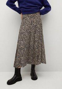Mango - BOMBAY - A-line skirt - violet clair/pastel - 0