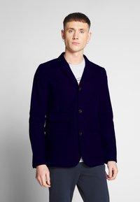 G-Star - UTILITY 4 BUTTON BLAZER - Blazer jacket - mazarine blue - 0