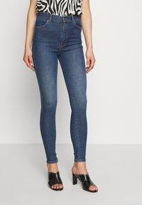 Dr.Denim - MOXY - Jeans Skinny Fit - westcoast dark blue - 0
