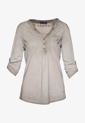 LANGARM - Long sleeved top - grau