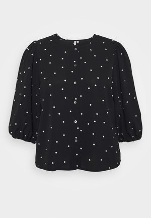 CARLUXMILA PUFF  - Blouse - black/white