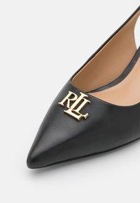 Lauren Ralph Lauren - LOXDALE - Classic heels - black - 6
