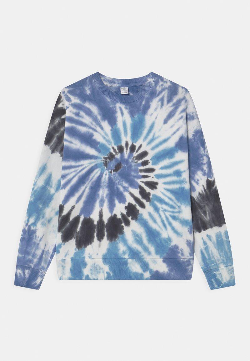 Lindex - TIEDYE - Sweatshirt - light blue