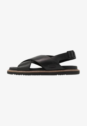 LANA CROSS STRAP - Outdoorsandalen - black