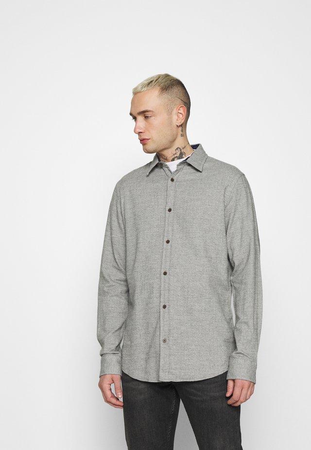 JORBARRET DETAIL - Camisa - light grey melange