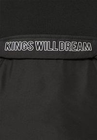 Kings Will Dream - RAFFORD OVERHEAD HOOD - Sweatshirt - jet black - 5