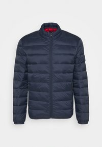 Jack & Jones - JJEMAGIC PUFFER COLLAR  - Light jacket - navy blazer - 4