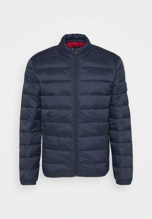 JJEMAGIC PUFFER COLLAR  - Light jacket - navy blazer