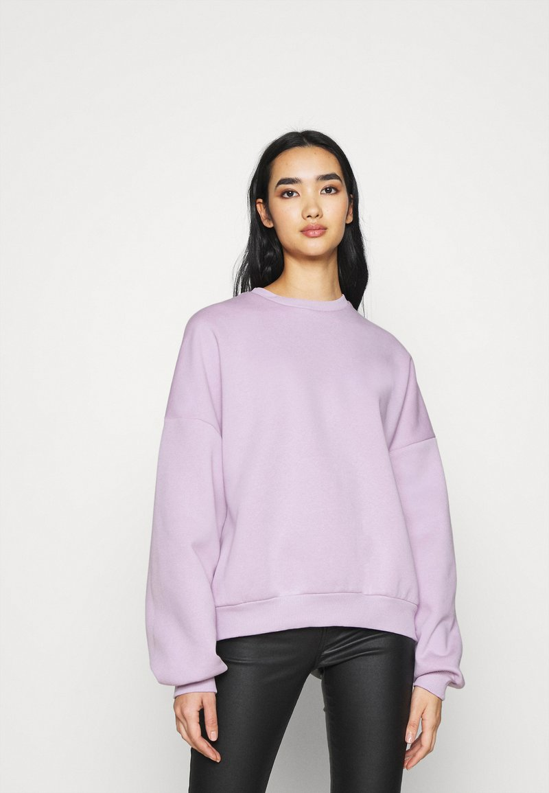 Nly by Nelly - PERFECT CHUNKY - Sweatshirt - light purple