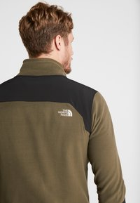 The North Face - GLACIER PRO FULL ZIP - Fleece jacket - new taupe green/black - 3
