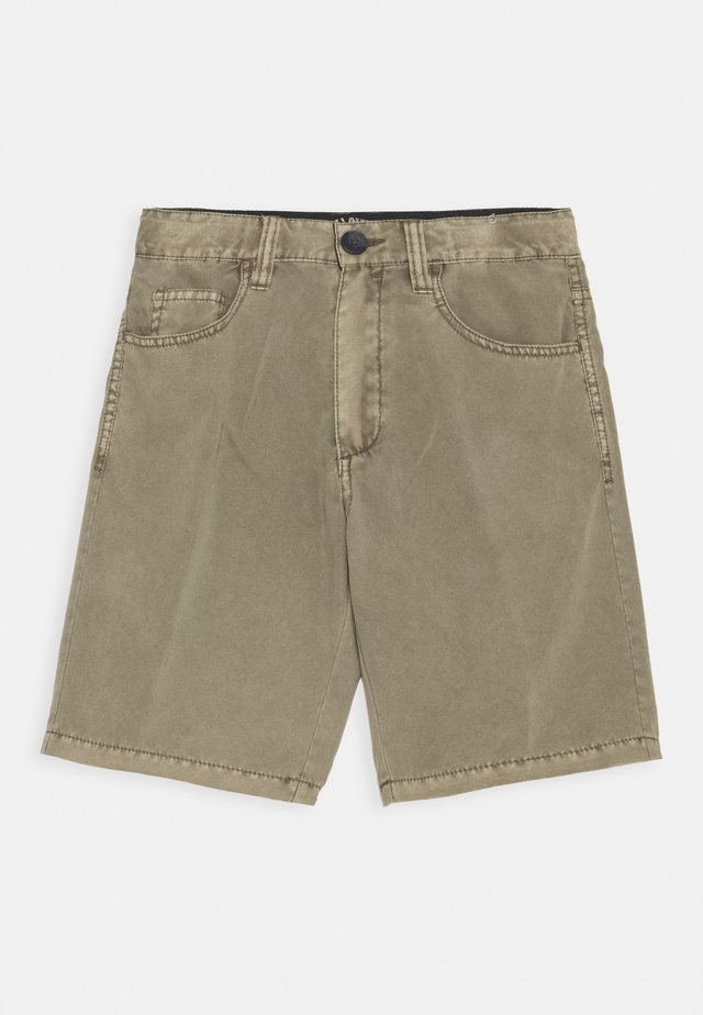 OUTSIDER SUBMERSIBLE - Shorts - dark khaki