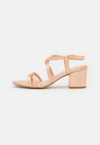 WIDE FIT - Sandals - rose gold