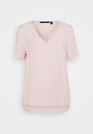 VMNADS - T-shirts med print - sepia rose