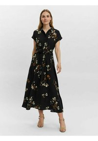 Vero Moda - Shirt dress - black - 0