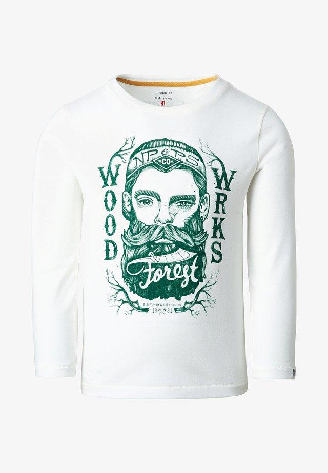 KENHARDT - T-shirt à manches longues - whisper white