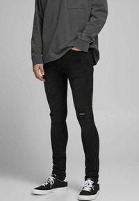 Jack & Jones - LIAM - Jeans Skinny Fit - black denim - 0