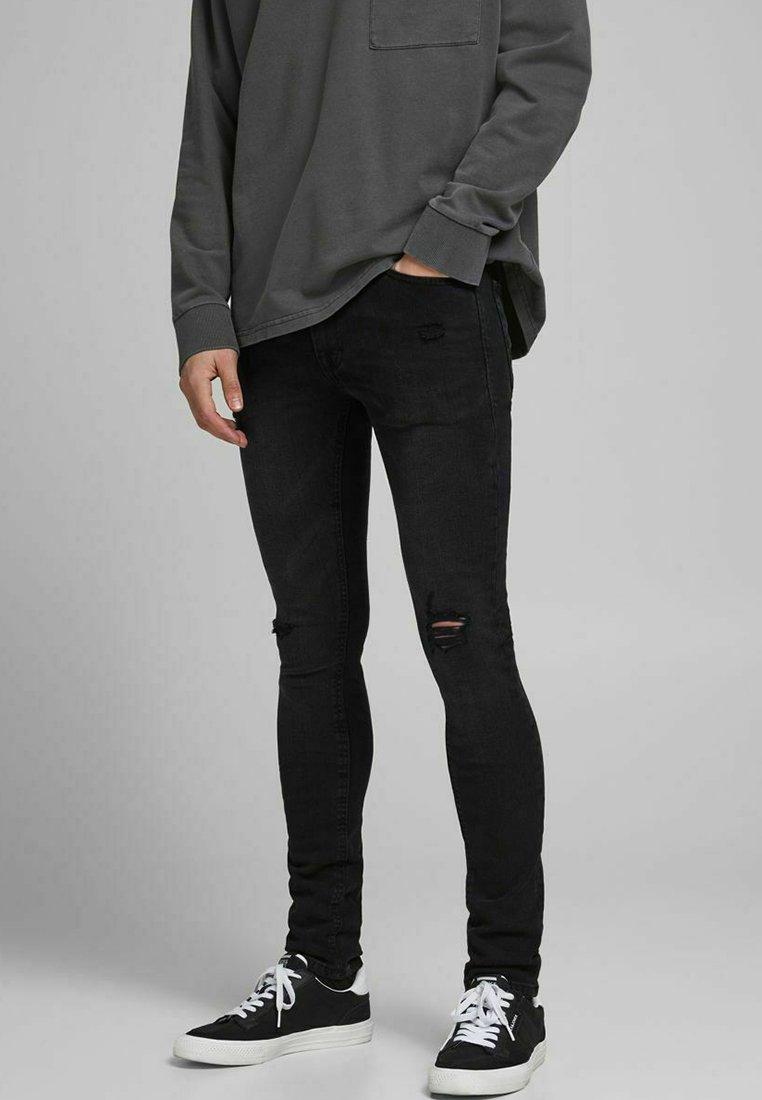 Jack & Jones - LIAM - Jeans Skinny Fit - black denim