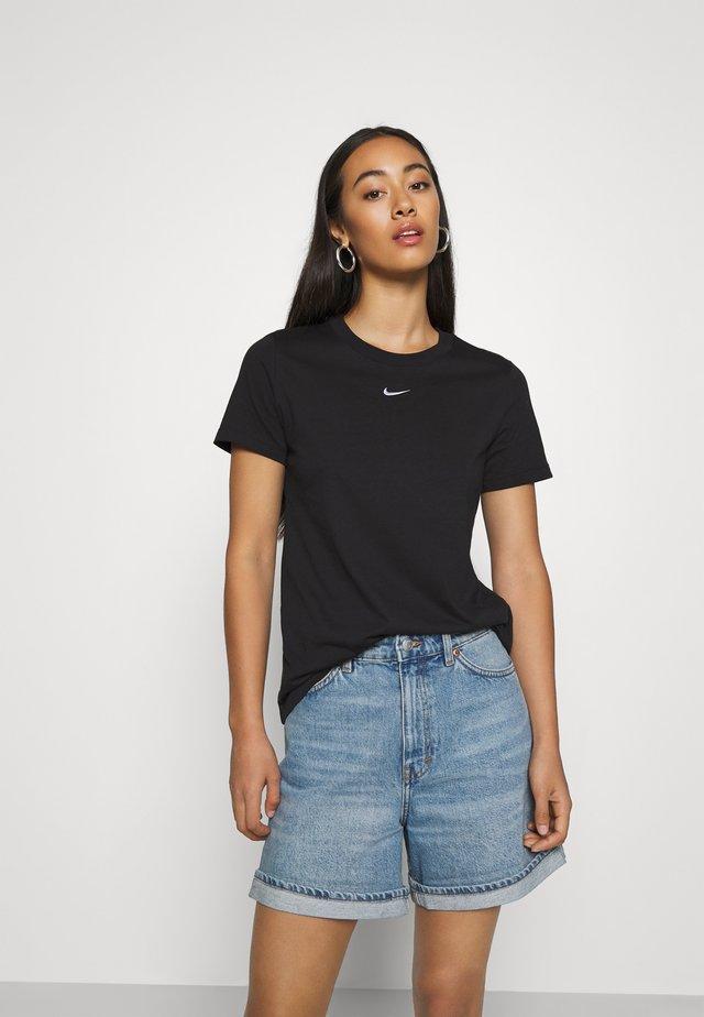 TEE CREW - Basic T-shirt - black