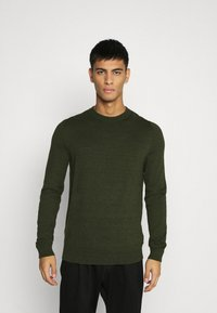 Topman - CREW 2 PACK - Trui - grey/green - 2