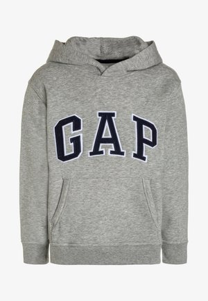 BOYS ACTIVE ARCH  - Felpa con cappuccio - light heather grey